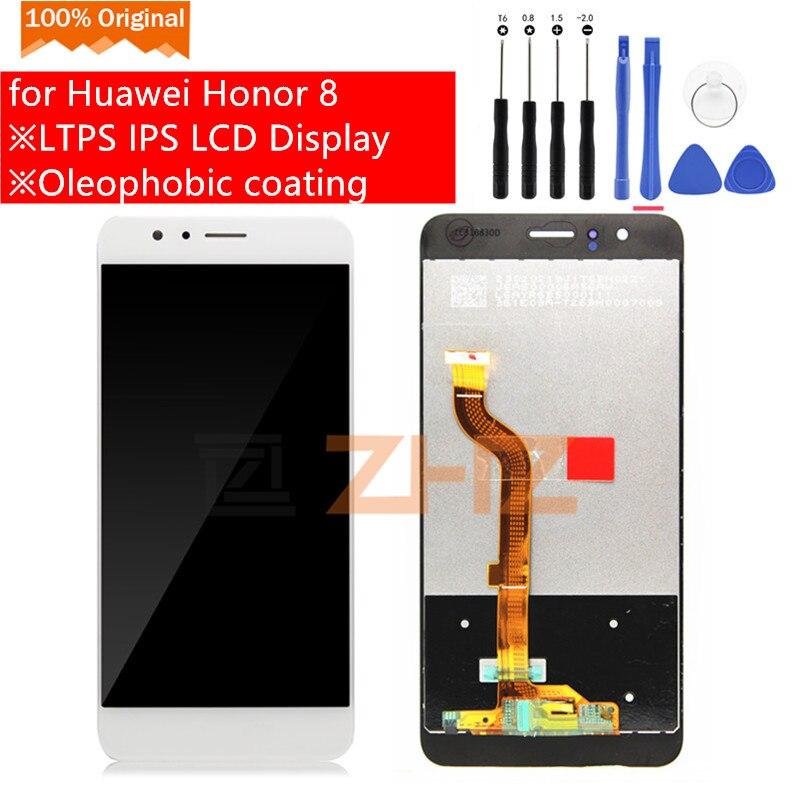 Huawei 社名誉 8 Lcd ディスプレイタッチスクリーンデジタイザアセンブリのための Huawei 社 Honor8 FRD L09 交換スペアパーツ  グループ上の 携帯電話 & 電気通信 からの 携帯電話用液晶ディスプレイ の中 1