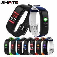 J1 Smart Wristband Color Display Fitness Tracker Bracelet Heart Rate Monitor Blood Pressure IP67 Waterproof Watches