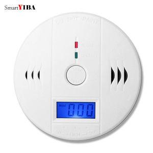 SmartYIBA 50 шт./лот Высокочувствительный ЖК-детектор окиси углерода СО детектор отравления газа предупреждающий датчик тревоги CO детектор