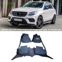 Inside Floor Mats Carpets Foot Pads Floor Mats Pad For Mercedes Benz GLE Coupe C292 2015 2016