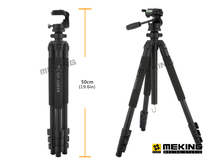 Professional Camera Tripod 172cm Fancier WF-6663A Aluminium stand with 3-way ballhead & Bag tripod tripe extensor para foto