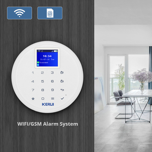 Image 2 - New KERUI W17 EN RU ES DE IT FR Switchable GSM Wifi Alarm System for Home In Alarm System kit with Android Ios APP Control