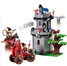 262pcs DIY  Jungle Castle  Blocks Early Educational Toy Minifigures Educational toys Children Christmas Gift