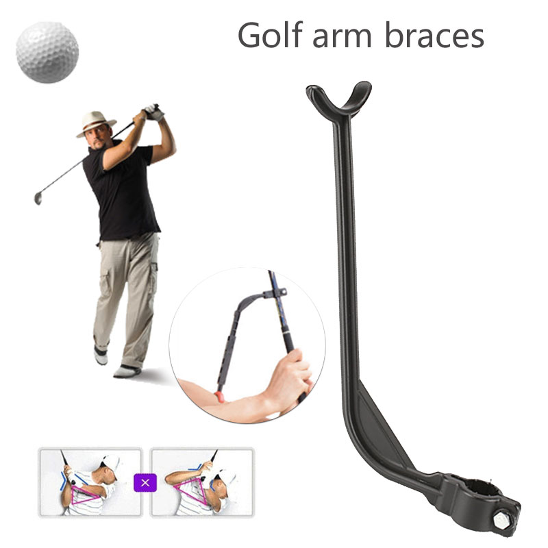 1pcs Golf Training Aid Aids Golf Swing Trainer Beginner Gesture Alignment Correct Swing Trainer Practical Practicing Guide 12