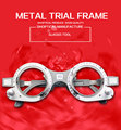 free shipping metal trial frame, fixed trial frame, optical trial lens frame 52~70mm good qualty