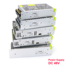 Переменный ток в постоянный ток 48 В 3A 5A 150 A 10A 15A 20A 240W 360W 400W 500W 600W 720W 800W 1000W импульсный источник питания для светодиодных фонарей