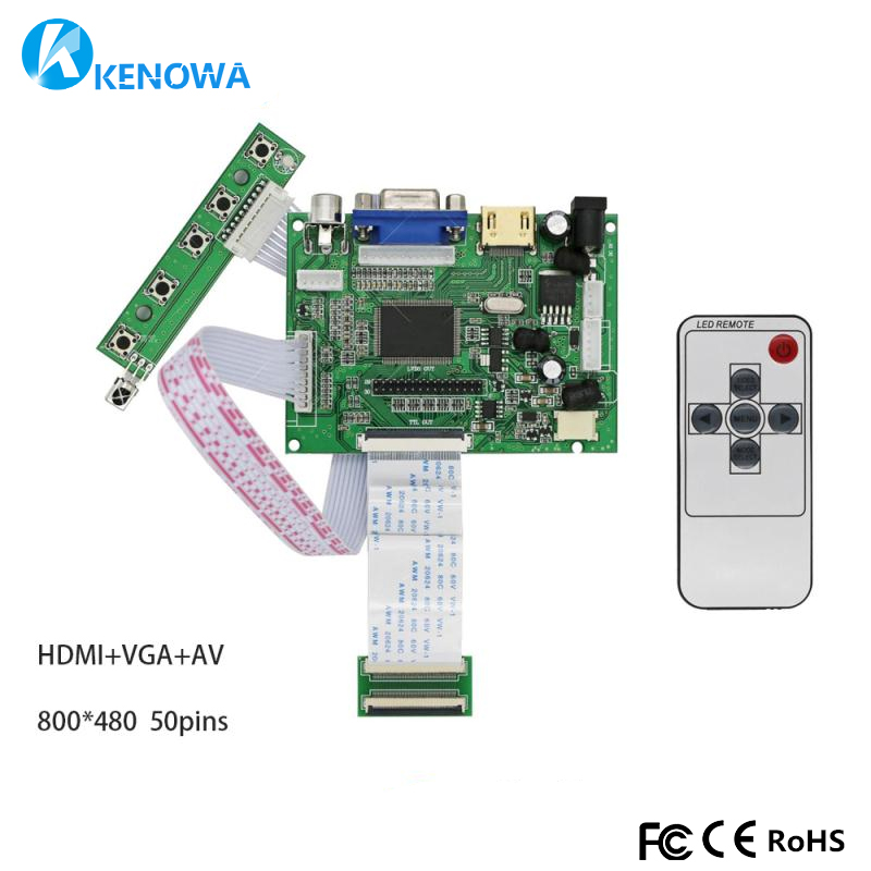 Impartial 7300101462 7300101463 E231732 7300130906 /yh070if50 Tft 50pins Monitor Driver Board Controller Control 2av Hdmi Vga Promoting Health And Curing Diseases Cellphones & Telecommunications