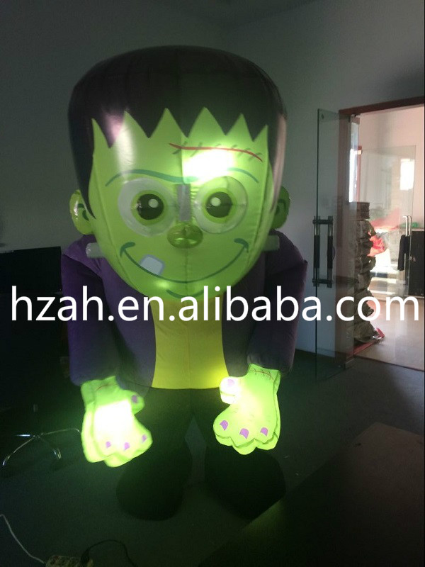 Lighting Inflatable Frankenstein Monster Costume frankenstein