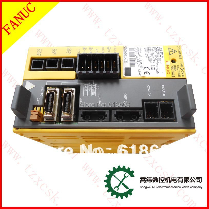 cnc motor controller for milling machine Beta iSV 20 Beta iSV 20 servo driver amplifier  FANUC A06B-6130-H002 new original nbb5 f33 e2 warranty for two year