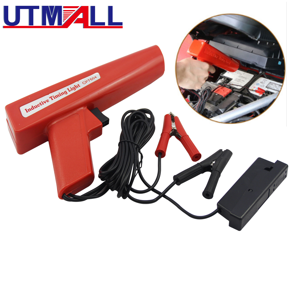 Professional Ignition Strobe Timing Light Xenon Lamp Inductive Petrol Engine For Car Motorcycle