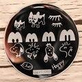 Nail Art Estampa Imagen Platea Animal de la Historieta del Diseño Del Arte Del Clavo Que Estampa la Plantilla Placa De Acero Inoxidable de Alta Calidad 8237989