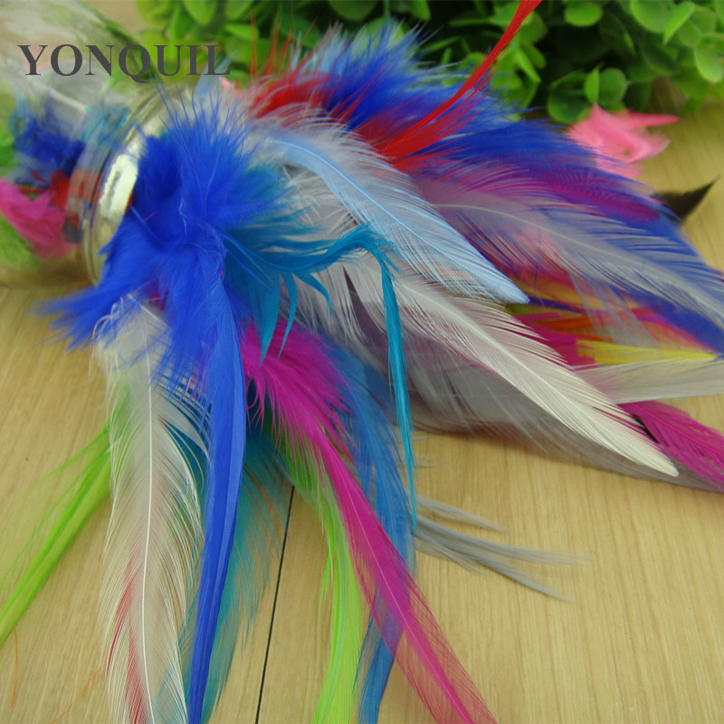14 Colors Select Rooster Feather 6-8inches/ 15-20cm /DIY Hair Accessories,fascinator Material For Hats Cloth Decoration