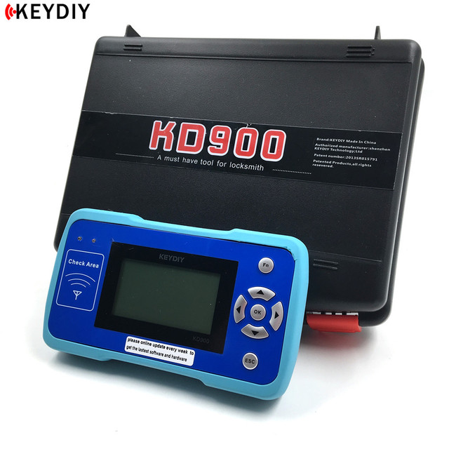 Original KEYDIY KD900 Remote Maker the Best Tool for Remote Control Frequency Tester,Auto Key Programmer unlimited token