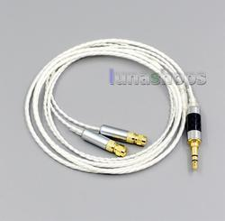 LN004820 Hi-Res 7N OCC Silver Plated Headphone Earphone Cable For HiFiMan HE400 HE5 HE6 HE300 HE4 HE500 HE600