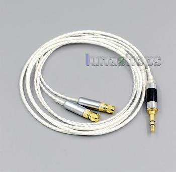 LN004820 Hi-Res 7N OCC Silver Plated Headphone Earphone Cable For HiFiMan HE400 HE5 HE6 HE300 HE4 HE500 HE600
