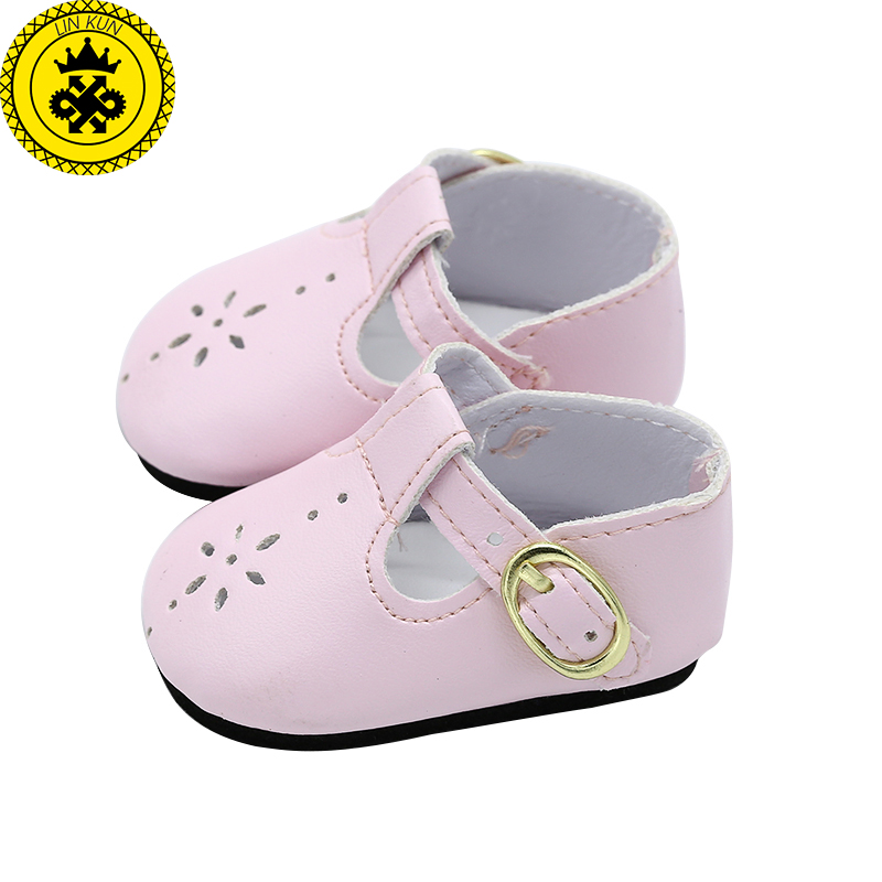 Baby-Born-Doll-Shoes-Pink-Leather-Shoes-Fit-43cm-Zapf-Baby-Born-Doll-Accessories-Girl-Gift-xie576-2