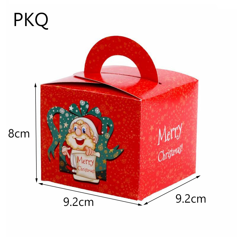 Wholesale ! 50pcs/lot Red Christmas Gift Paper Box for ...