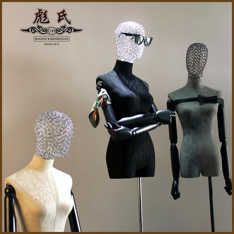 Halblanger Stoff des hohlen Kopfes des menschlichen Körpers stützt - Kunst, Handwerk und Nähen - Foto 1