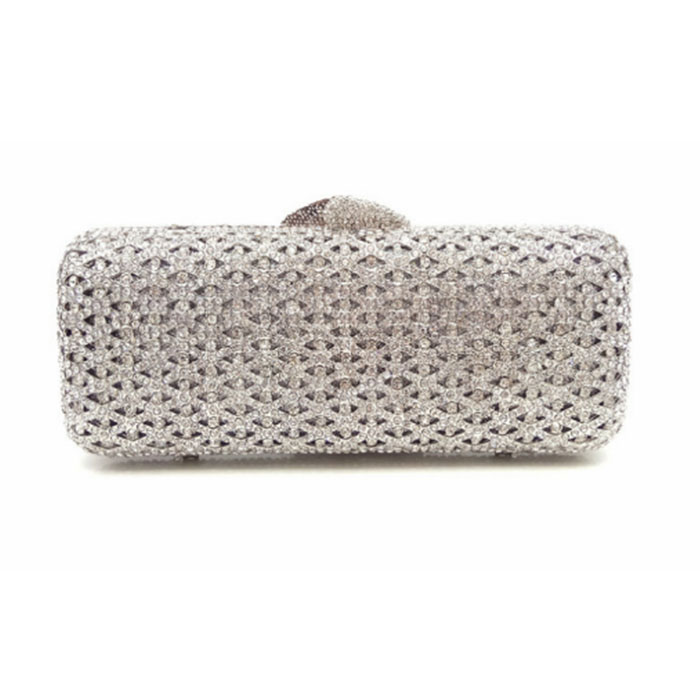 Women Beading Evening Bags Ladies Wedding Party Clutch Bag Crystal Diamonds Purses European And American Style clutch purse lady gradual change colours full of rhinestone refinement lady for party and wedding evening clutch bags womens designers purses