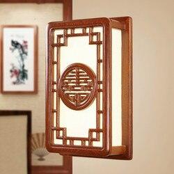 T drewna chiński styl kinkiet rzeźbione sapele jakości entranceway klasyczne