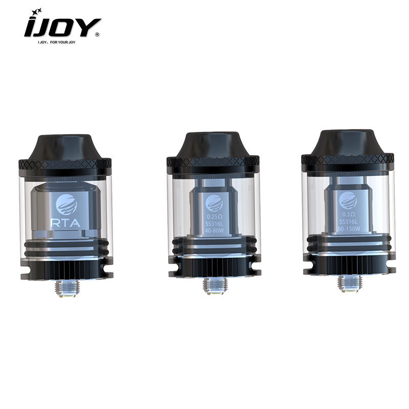 Electronic Cigarette Atomizers Hospitable Original Ijoy Tornado 150 Sub Ohm&rta Tank 4.2ml Top Filling Sub Ohm Tank Atomizer With New Tornado 0.3ohm Coil And Rta Coil Back To Search Resultsconsumer Electronics