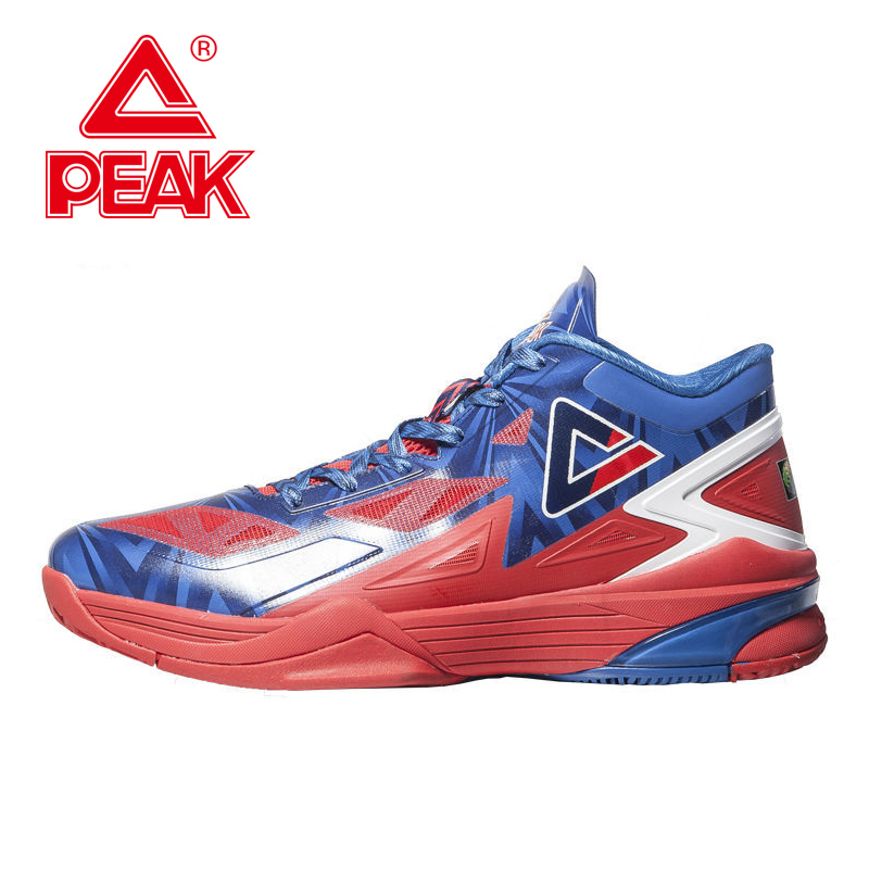 PEAK SPORT Lightning II Men Basketball Shoe FIBA World Cup Special Edition Athletic Sneakers FOOTHOLD Cushion-3 Tech Ankle Boots peak sport lightning ii men authent basketball shoes competitions athletic boots foothold cushion 3 tech sneakers eur 40 50