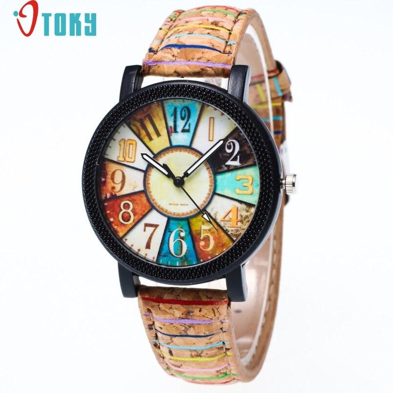 Excellent Quality OTOKY NEW Watch Women Fashion Quartz Watches Leather Women Watch Casual Dress Wristwatches Relogios Feminino