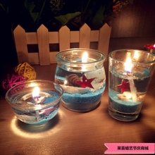 Crystal Light Scented Gel Candle Smokeless Jelly  Wax  environment-friendly Non-toxic and harmless Romantic Candles