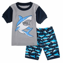 Boys Summer Short Sleeve Nightwear