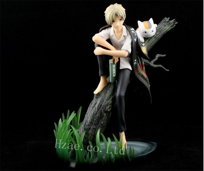 Anime Natsume Yuujinchou Natsume's Book of Friends Action Figure New in Box action figure natsume takashi natsume s book of friends backpack hand animation pvc 18cm collectible model gift dolls anime