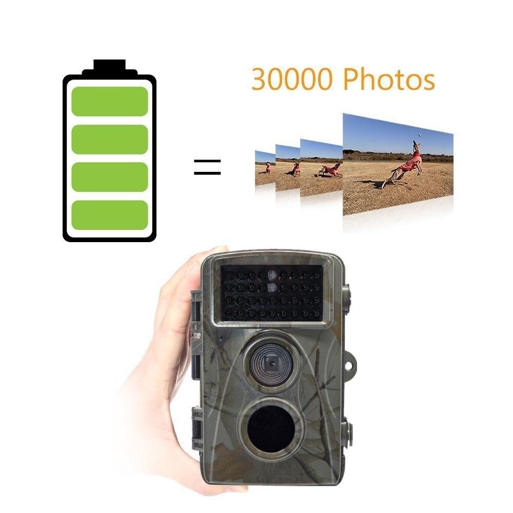 Chasseur caméra piège Photos 12MP HD numérique repérage caméra de sentier Vision nocturne IR maison Surveillance Cam chasse enregistreur vidéo