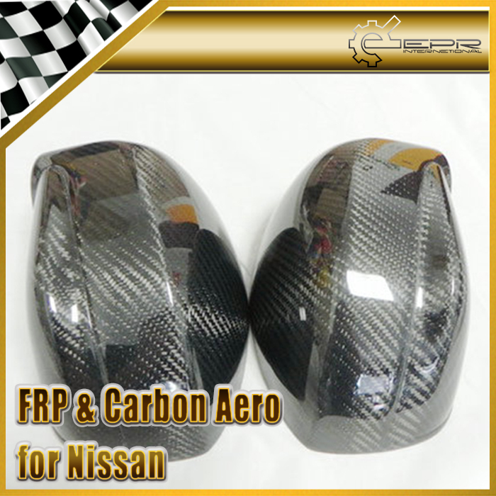 New Mirror Frame Shell Replacement For Nissan R35 GTR Carbon Fiber OEM Car Accessories Racing