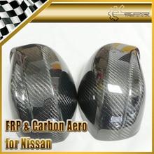 Новый Зеркало Рамка Замена Корпуса Для Nissan R35 GTR Углеродного Волокна OEM Автомобильная Аксессуары Гонки