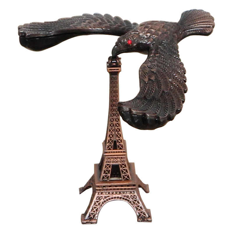 Creative Balance Gravity Bird Tower Ornament Home Decorate Accessories Eagle Statue Metal Craft Birthday Gifts Decompression Toy