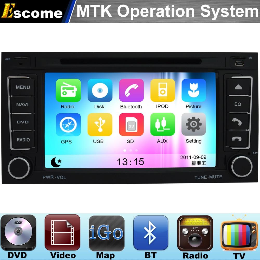 MTK3360 Car DVD Automotivo For VW T5 Multivan VW T5 Multivan 2004-2009 VW Transporter with Bluetooth Radio Stereo GPS Navigation