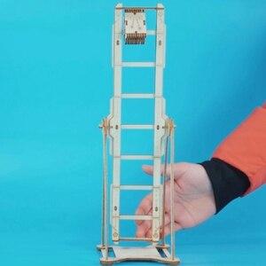 Image 3 - 뜨거운 diy robotime 공예 나무 스윙 소년 assemle 나무 공예 키트 홈 장식 모델 장식 액세서리 어린이를위한 선물