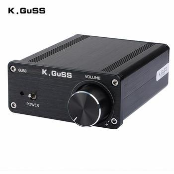 K.GuSS GU50 HIFI 2.0 class D TPA3116 Mini borne audio power amplifier amplificador 2 * 50 w DC12V to DC24V