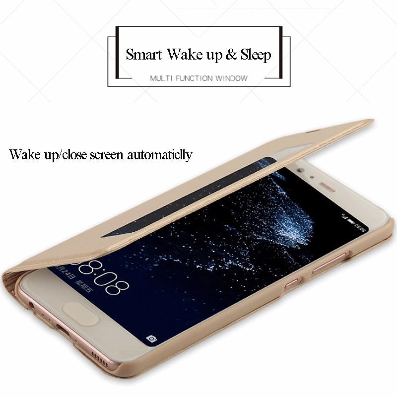 SHYPHIXV PU Flip Funda de cuero para Huawei P10 5.1 Inch Case con - Accesorios y repuestos para celulares - foto 4