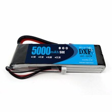 DXF Lipo Battery Pack RC 3S 11.1V 50C 5000mAh for TRX Airplane Helicopter Car