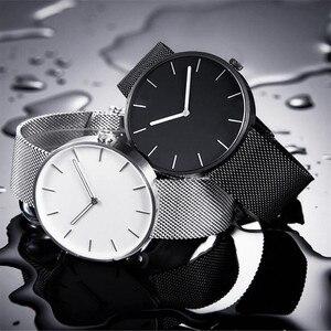 Image 2 - Youpin TwentySeventeen Reloj de pulsera de cuarzo analógico, 39mm, luminoso, resistente al agua hasta 3ATM, elegante, para hombre y mujer, banda de reloj de lujo