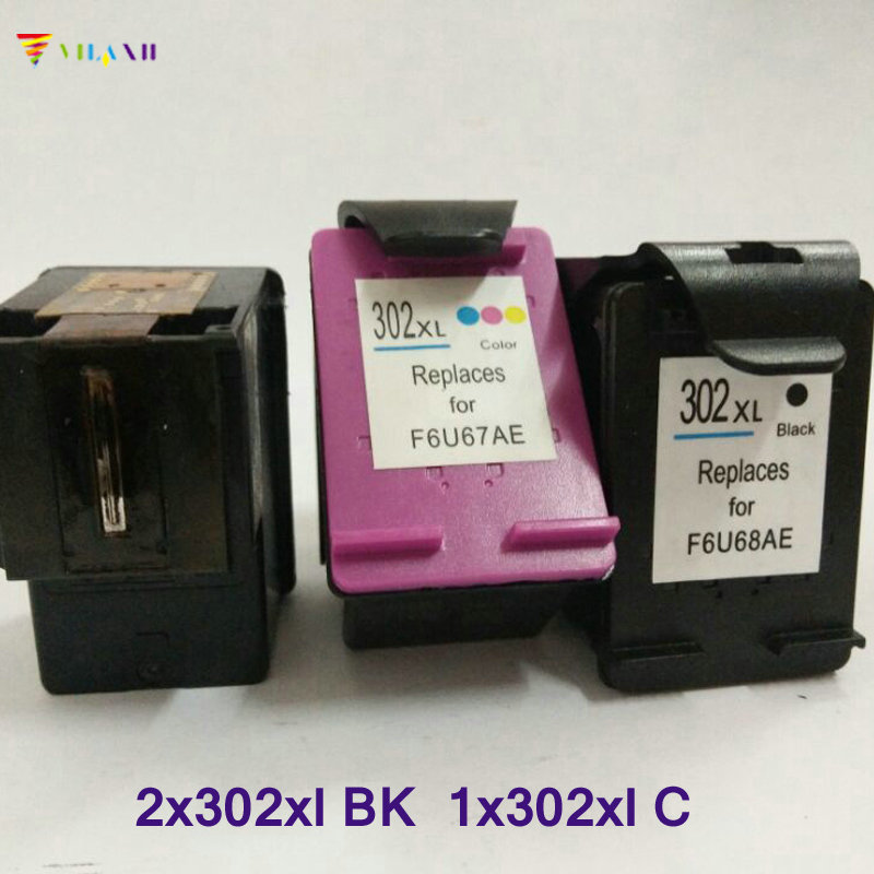 Vilaxh compatible Ink Cartridge replacement for hp 302 ...