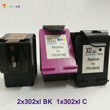 Vilaxh compatible Ink Cartridge replacement for hp 302 302xl Deskjet 2130 1110 1112 2132 3630 Officejet 4650 ENVY 4520 printer цены онлайн