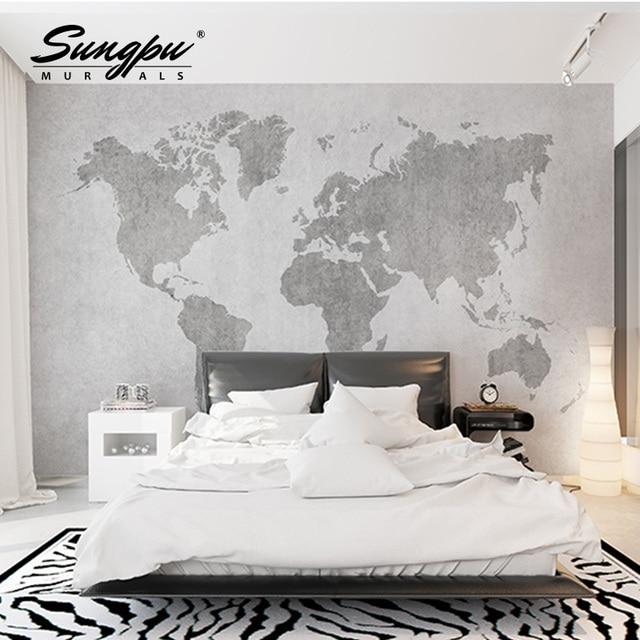 3d Wallpaper Wall Mural Hd Beautiful Bedroom Living Room World Plate