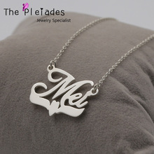 Personalized Name Necklace in 925 Solid Silver Custom Nameplate Necklace 925 Sterling Jewelry necklace 925 sterling silver custom photo