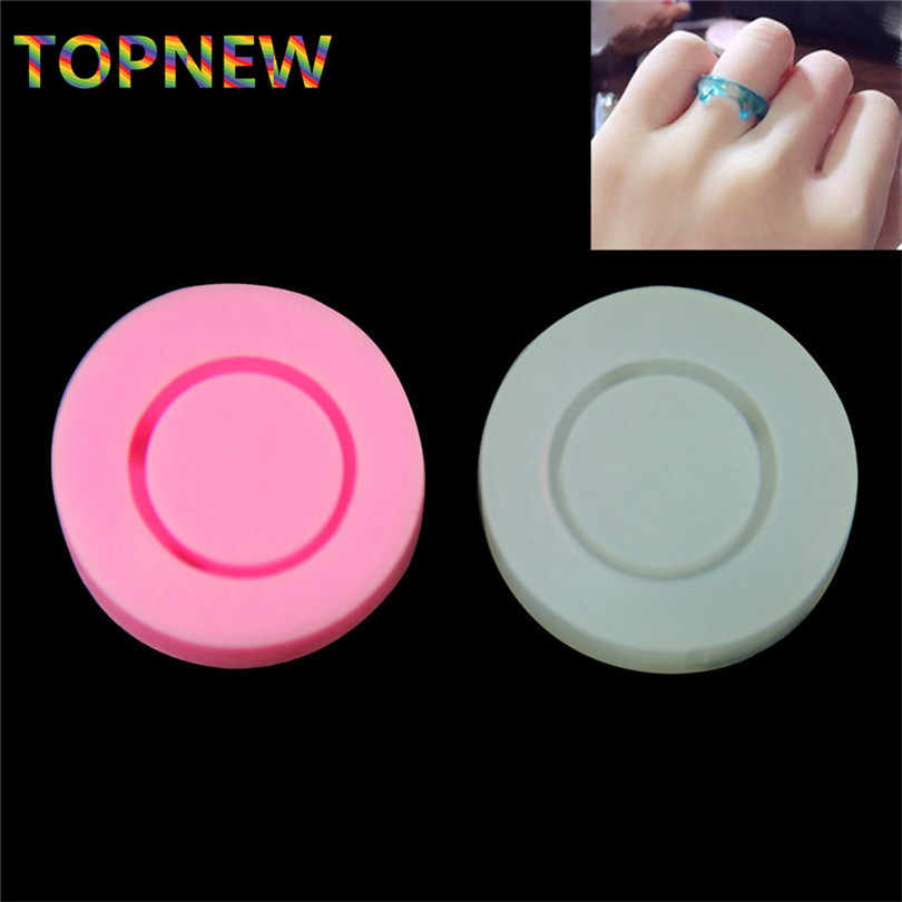 Flexible Silicone Cat Ear Finger Ring Mold Epoxy Resin Pendant Jewelry Making Tools