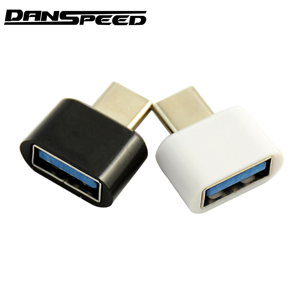 DANSPEED USB 3.1 Type C Male to USB 2.0 Female Adapter OTG Converter Connector USB-C For Android Tablet Phone