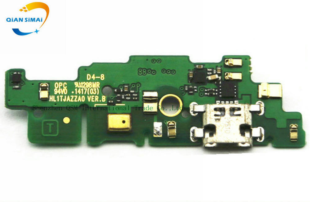 New Original Micro USB Charging Charge Board Connector Microphone Repair Parts For Huawei Ascend Mate 7 Phone Mate7