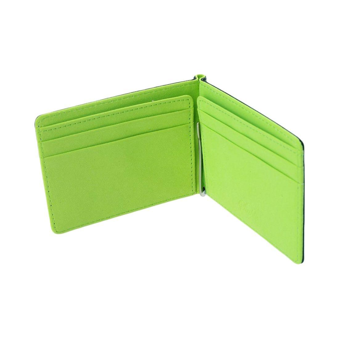 Men Slim Bifold Front Pocket Wallet with Money Clip 4