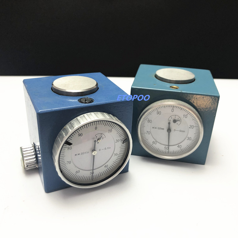 "Image 2 - Magnetic Z Axis Tool Dial Zero Pre Setter .001"" Gage Offset CNC Metric Range 0 5mm or inch size 0 0.1""-in Gauges from Tools"