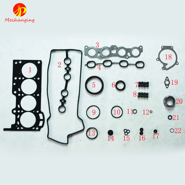 For DAIHATSU TERIOS K3 VE K3 K3 VE2 Car Spare Parts Overhaul Package ...